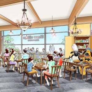 ひつじのショーンがテーマのカフェとショップ、南町田のグランベリーパークにオープン!