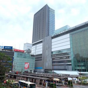 2019年8月 横浜駅西口 駅ビル完成までの様子