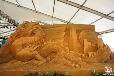 ヨコハマ砂の彫刻展の砂で作った彫刻が想像の100倍凄くて超感動!期間限定イベント