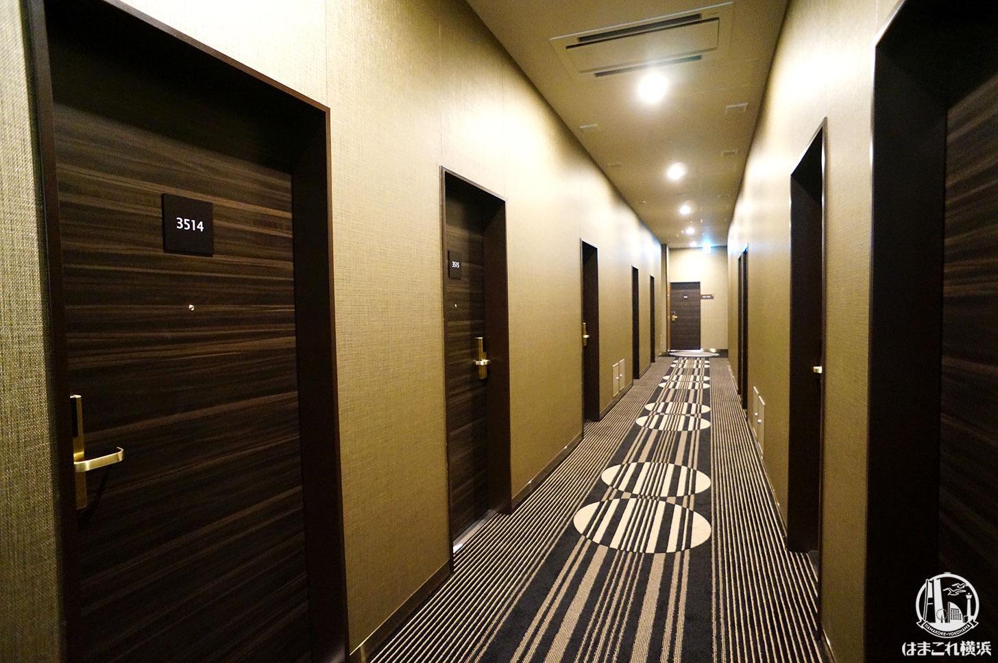 アパホテル&リゾート 横浜ベイタワー 最上階客室