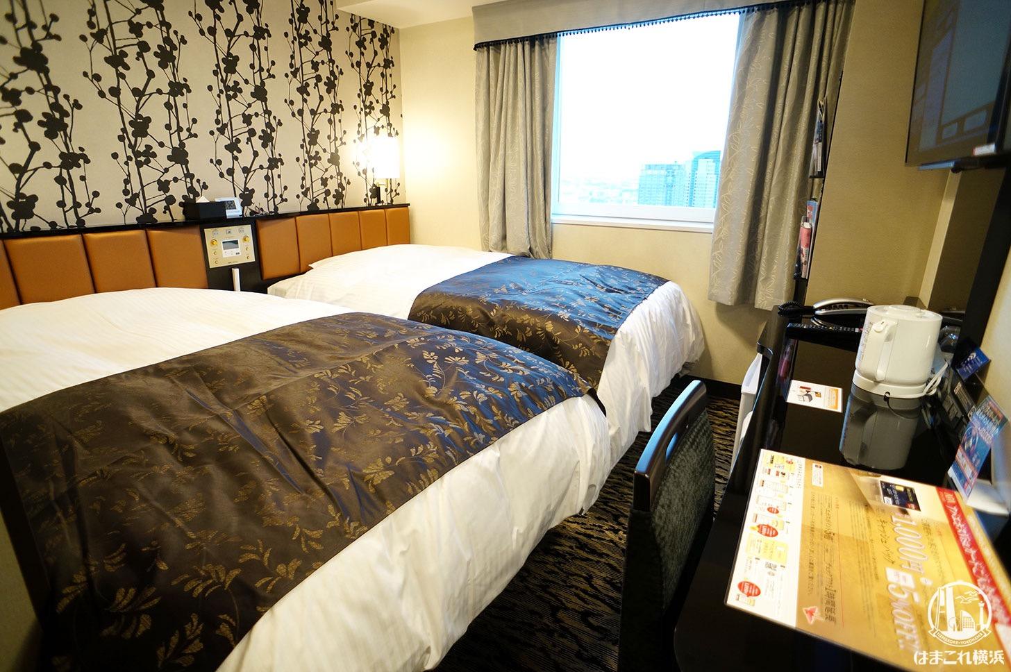 アパホテル&リゾート 横浜ベイタワー「スタンダードツイン」