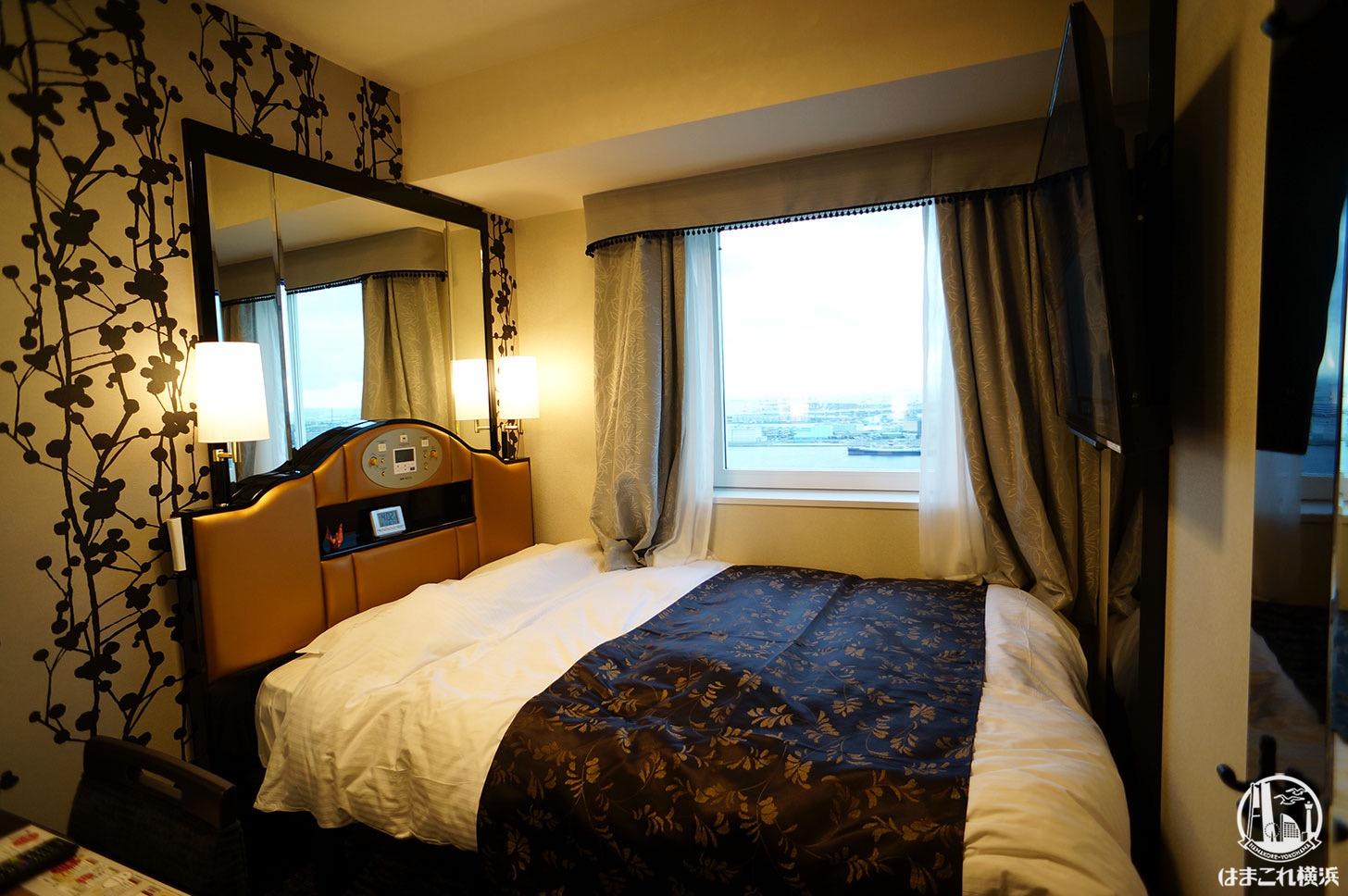 アパホテル&リゾート 横浜ベイタワー「ダブルルーム」