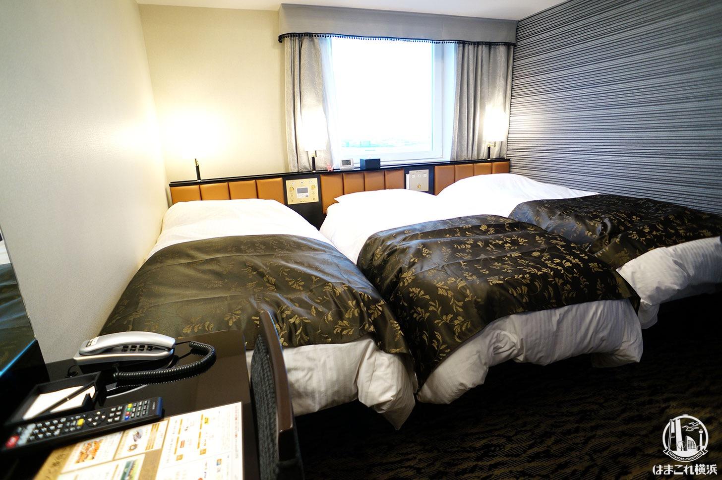 アパホテル&リゾート 横浜ベイタワー「トリプルルーム」