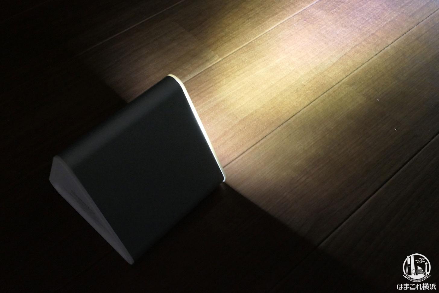 大容量バッテリー「cheero Power Mountain 50000mAh」LEDライト