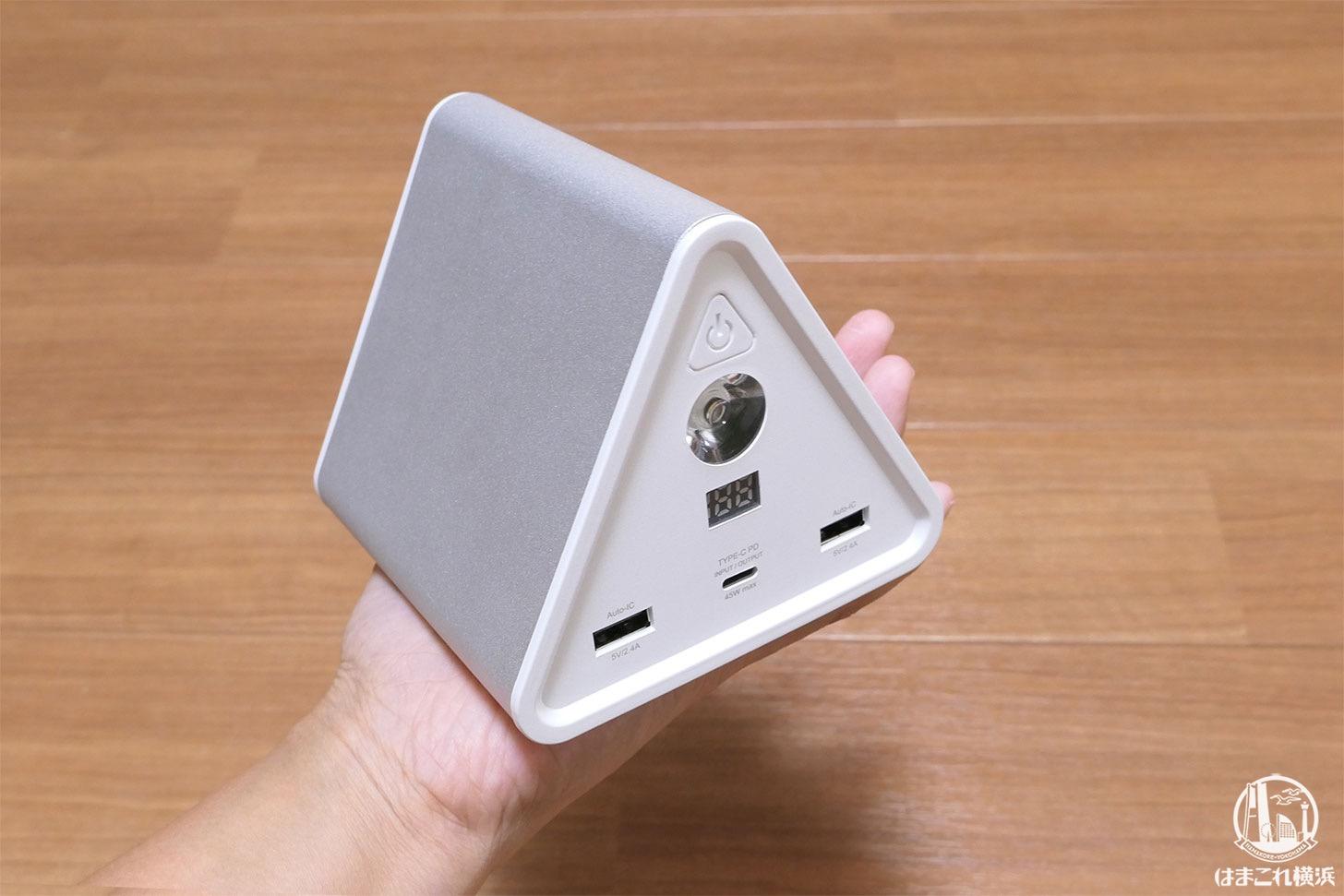 停電・災害対策に大容量バッテリー購入!コンパクトで場所取らず安心感も爆増