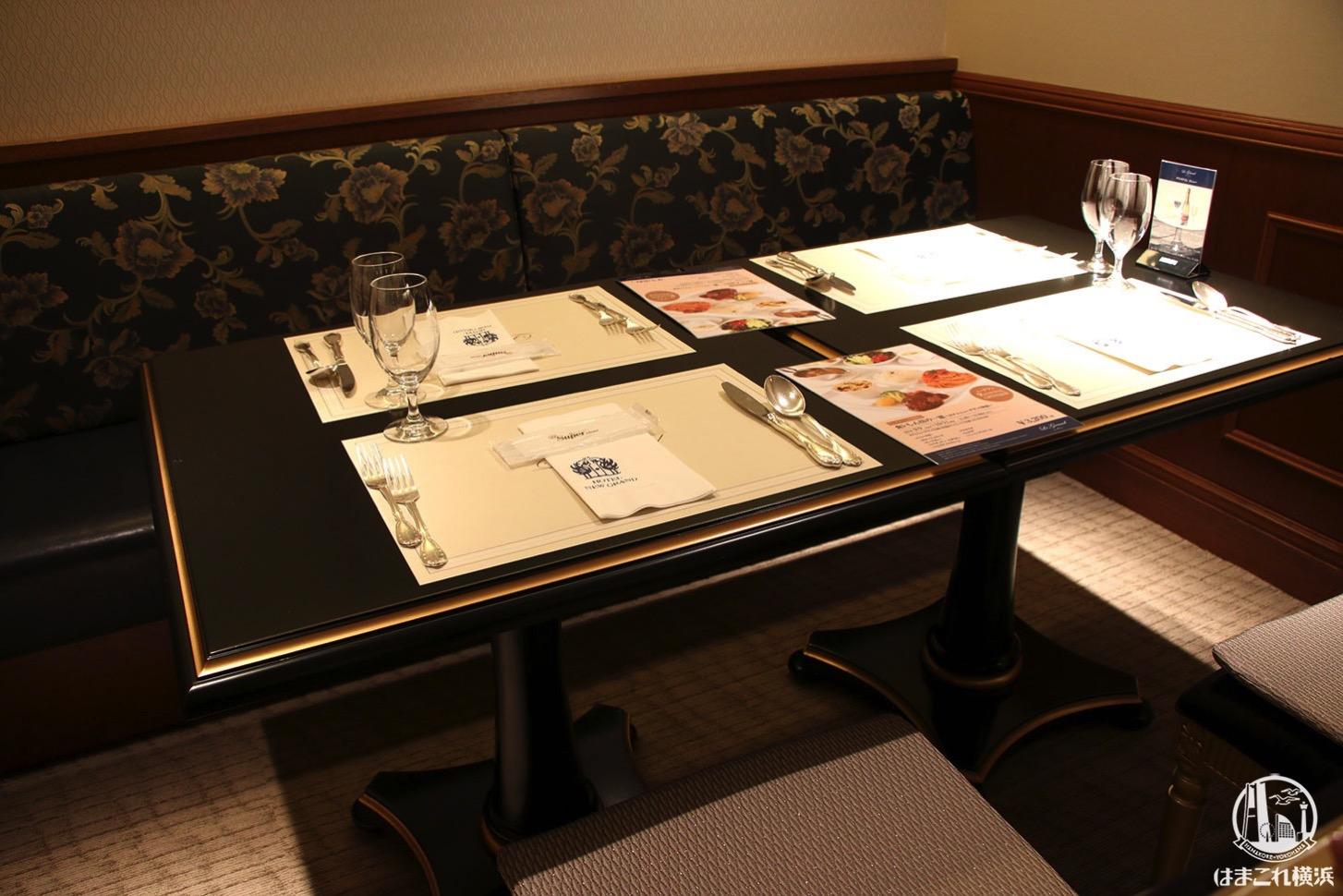ル グラン テーブル席
