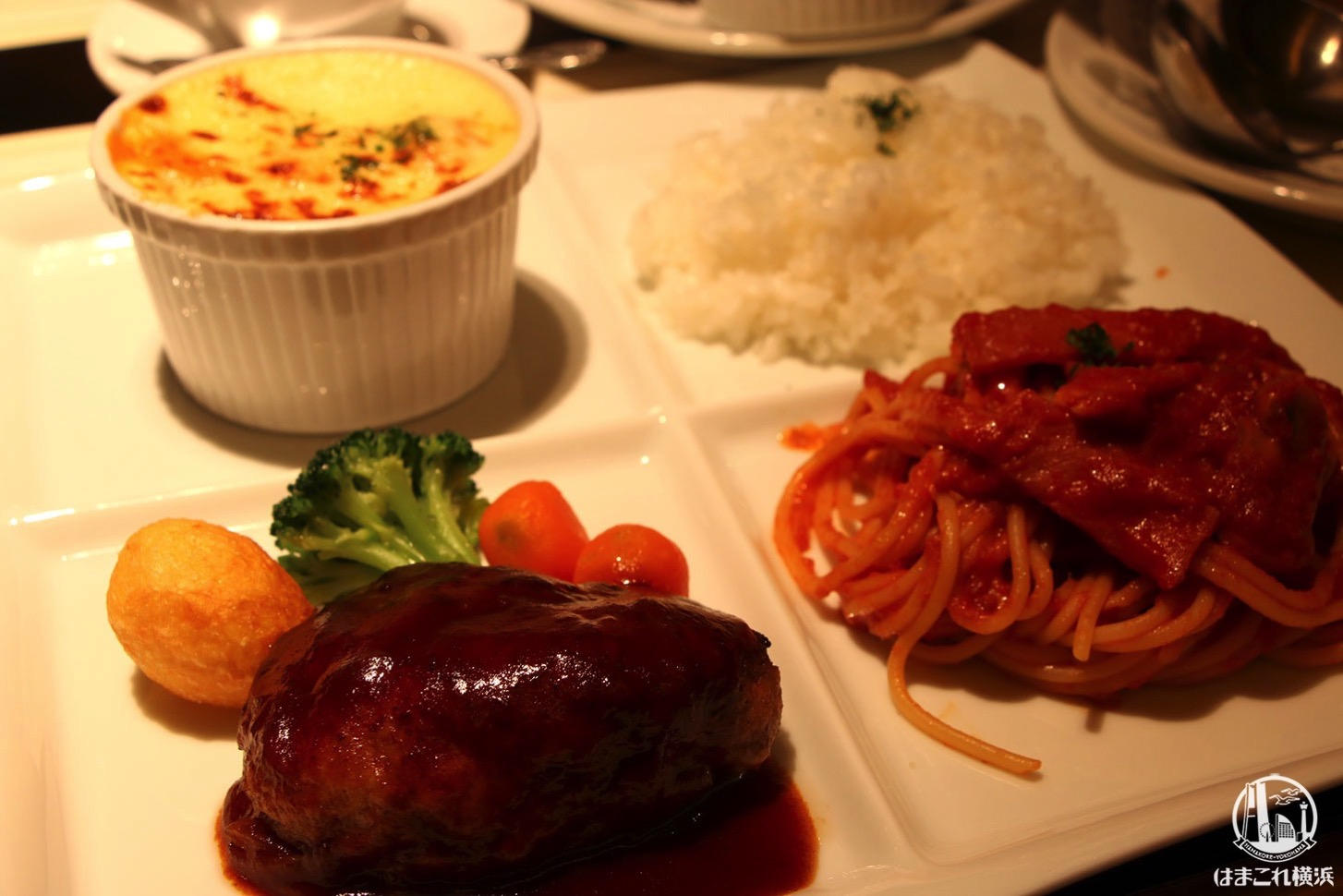 食いしん坊の一皿 ホテルニューグランド物語 シーフードドリア