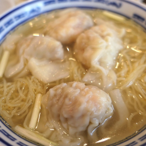 横浜中華街「南粤美食」海老ワンタン麺も釜飯も超絶旨くて行列でもまた行く!