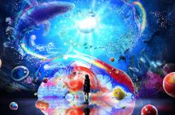 オーシャン バイ ネイキッド 光の深海展、横浜駅アソビルで日本初開催!海外の人気イベント