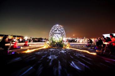 スマートイルミネーション横浜2019、象の鼻パークで光のアート作品を展開!