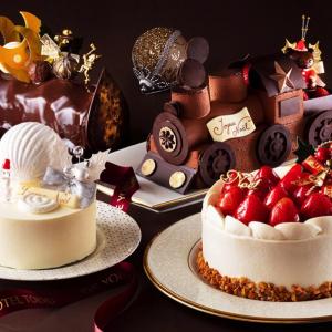 横浜ベイホテル東急に全5種類のクリスマスケーキ!テーマはサンタがやってくる