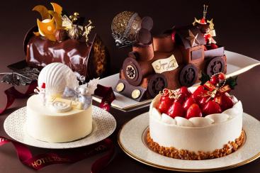 横浜ベイホテル東急に全5種類のクリスマスケーキ登場!テーマはサンタがやってくる