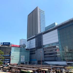 2019年9月 横浜駅西口 駅ビル完成までの様子