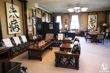 神奈川県庁(キング)本庁舎公開で普段見れない知事室見学してきた!