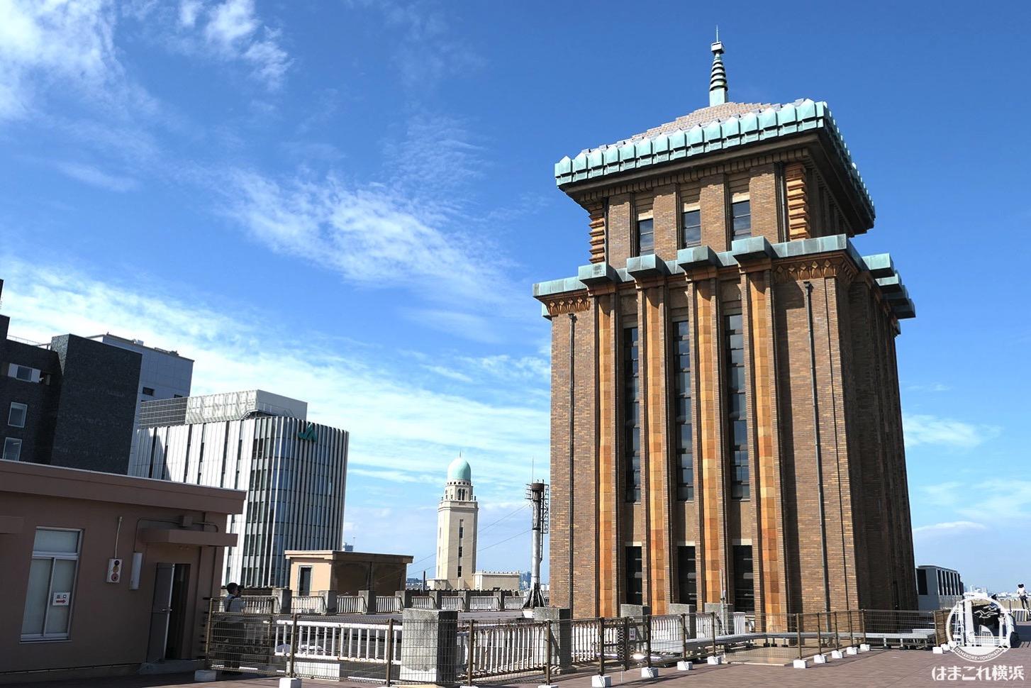 神奈川県庁本庁舎公開 屋上から見たキングの塔