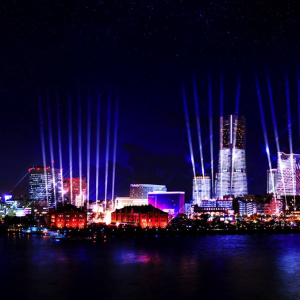 ナイトシンクヨコハマ開催!横浜の街を光と音のイルミネーションで彩る