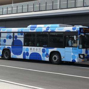 桜木町から横浜ハンマーヘッドに行くバス「ピアライン」の乗り場と所要時間、料金