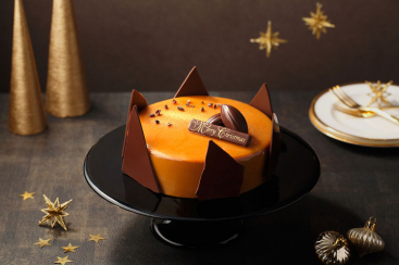 バニラビーンズ、黄金のクリスマスケーキなど予約受付!