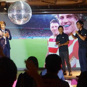 ラグビー日本代表をアソビルで応援!人気ドラマ出演者と巨大スクリーンで試合観戦 [PR]