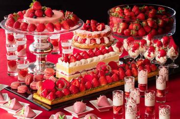 横浜ベイホテル東急「いちごジャーニー」開催!フレッシュいちごの食べ比べ