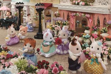 シルバニアファミリーの展示イベント、横浜人形の家で開催!4m超えのジオラマも