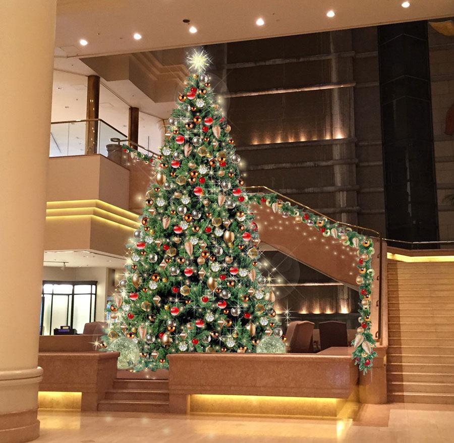 クリスマスツリー(1階ロビー)イメージ