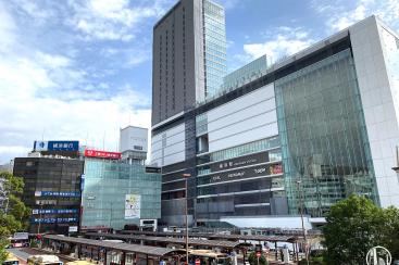2019年10月 横浜駅西口の様子