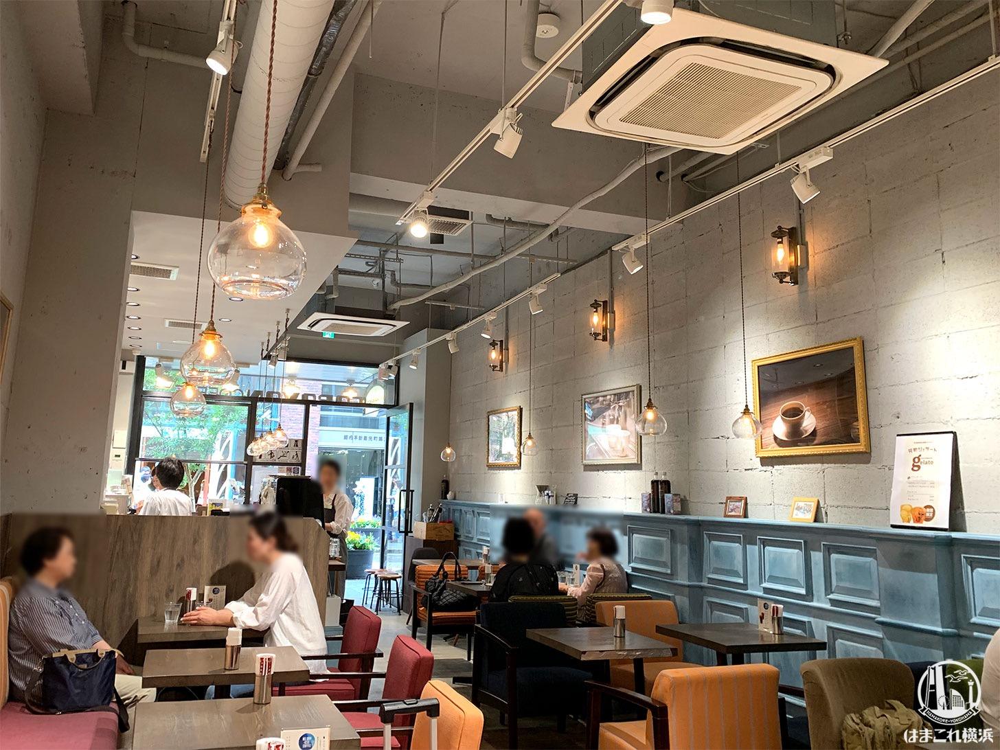 キャラバンコーヒー 元町店 店内