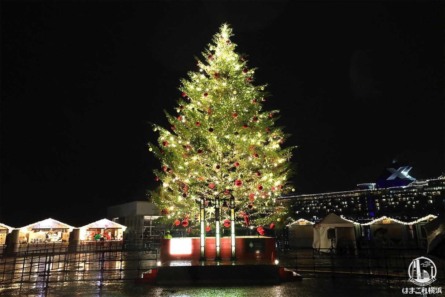横浜赤レンガ倉庫のクリスマスマーケット会場拡張でよりロマンチックに!初日レポ