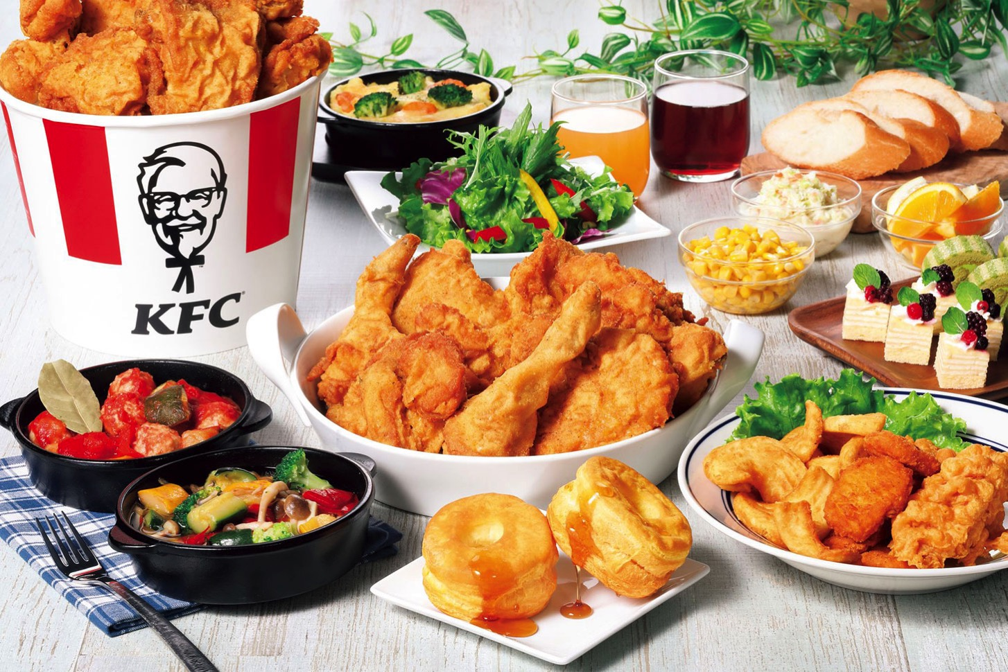 南町田「KFCレストラン」ブッフェでケンタッキーのオリジナルチキンなど提供!