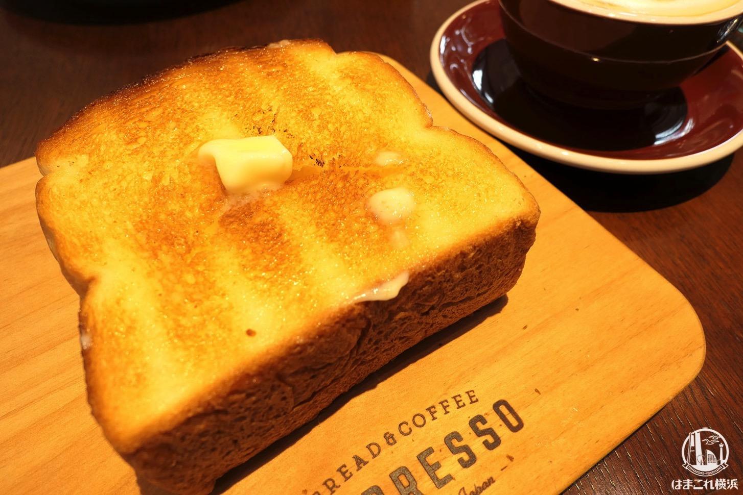 厚切りバターバタートースト