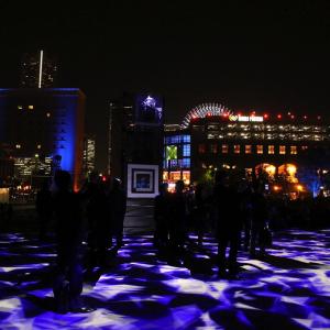 ナイトシンクヨコハマでイルミネーションと横浜の夜景がコラボ!特別演出も見てきた