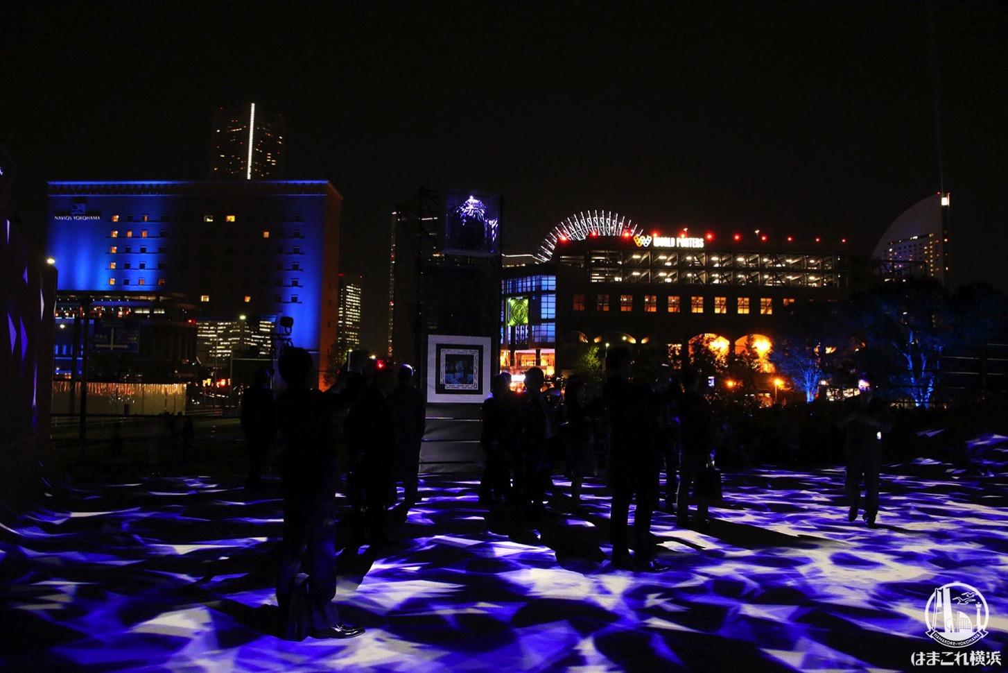 ナイトシンクヨコハマで横浜の夜景とイルミネーションがコラボ!特別演出も見てきた