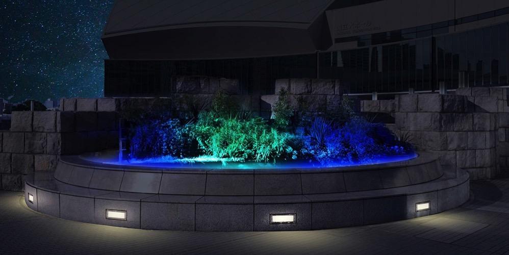 エントランス花壇