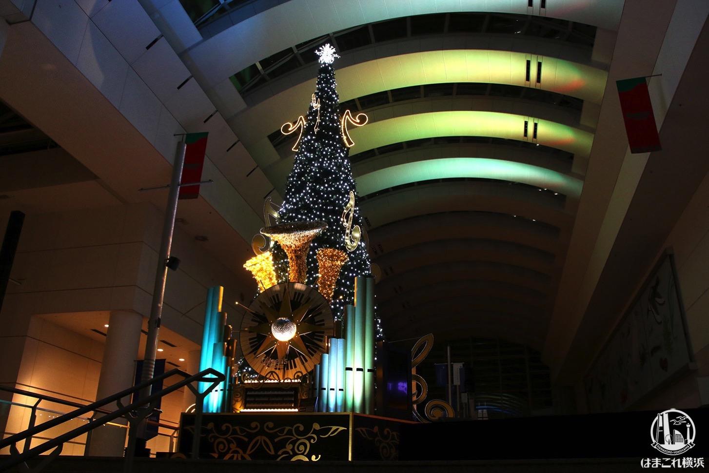 クイーズスクエア横浜 クリスマスツリー