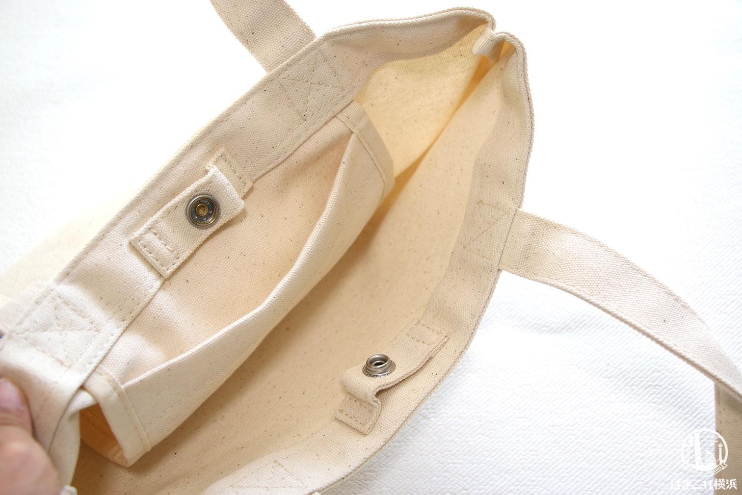 刺繍加工したバッグ