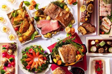 """横浜ベイホテル東急「クリスマスディナーブッフェ」開催!シェフからの華やかな""""味な贈り物"""""""