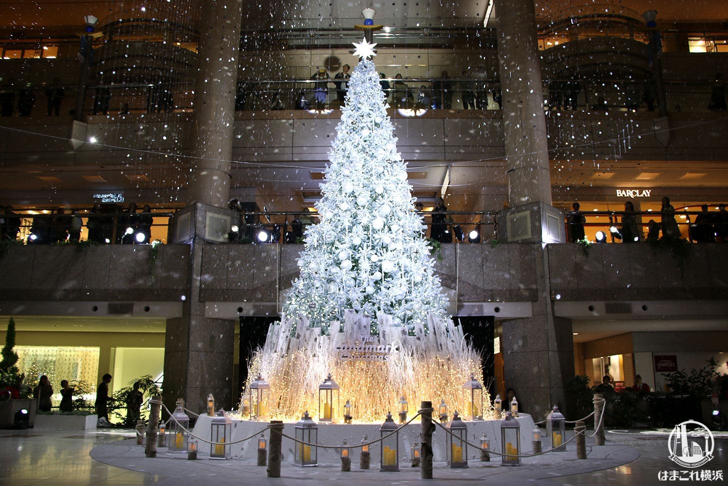 横浜ランドマークタワー クリスマスツリー