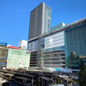 2019年11月 横浜駅西口 駅ビル完成までの様子