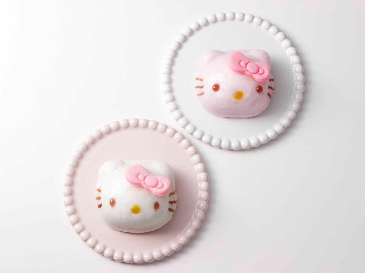 ハローキティ饅頭(紅・白)