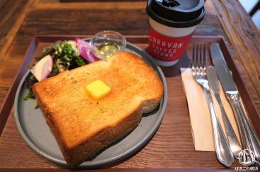 キャラバンコーヒースタンド 横浜元町は朝食ワンコインで開放感も魅力のカフェ!