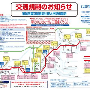 2020年 箱根駅伝による横浜駅周辺の交通規制、規制時間と場所