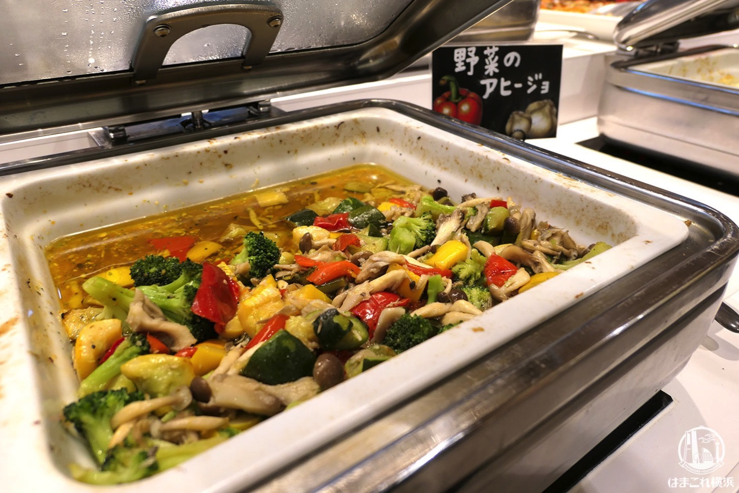 野菜のアヒージョ
