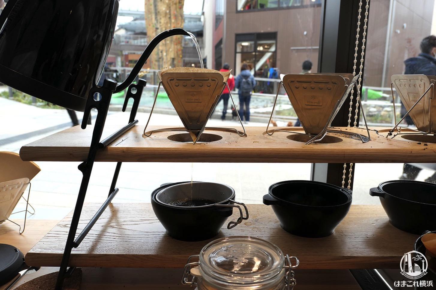 南町田グランベリーパーク「スノーピーク」コーヒー