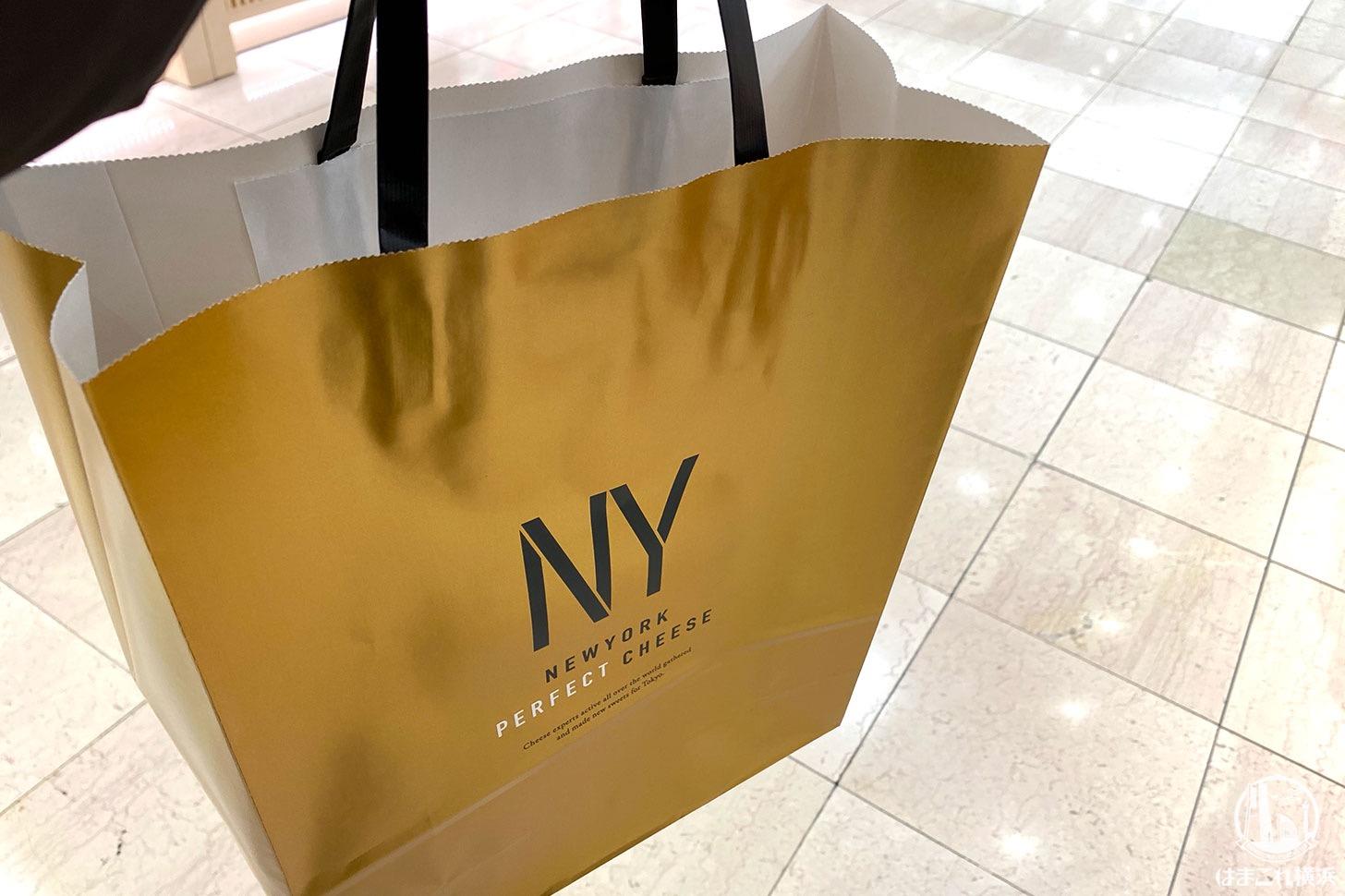 ニューヨークパーフェクトチーズ ショップバッグ