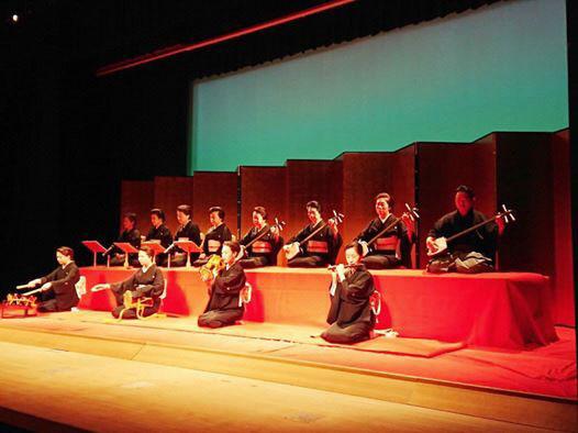 邦楽と日本舞踊のパフォーマンス