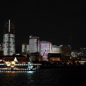 タワーズミライト スポット巡り!横浜ハンマーヘッド・万国橋・大さん橋、花火も