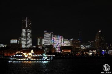 タワーズミライト スポット巡り!横浜ハンマーヘッド・万国橋・大さん橋、最後に花火