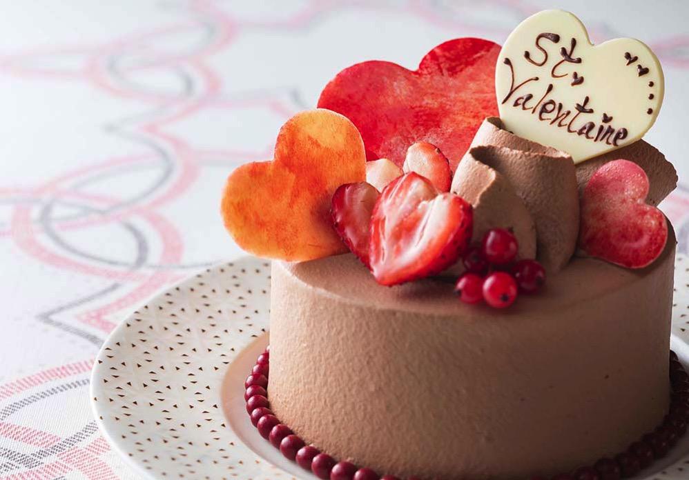 バレンタインショコラケーキ