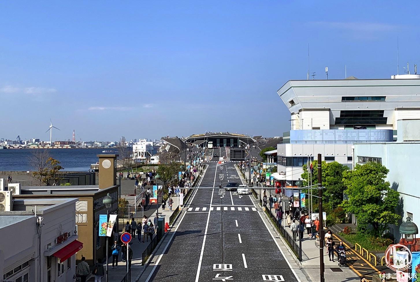 横浜港大さん橋国際客船ターミナル場所